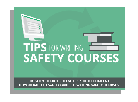 Tips for helping you create a safety course