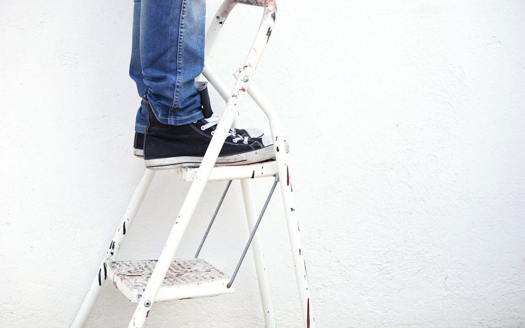standing-on-ladder