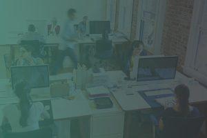 start up office background image