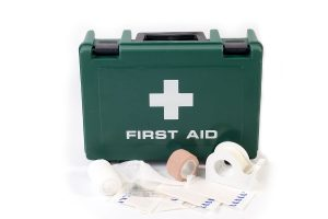 first aid- first aid kit