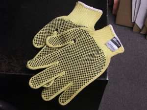 cut and puncture protection - industrial gloves