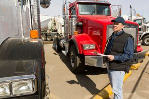 DOT Drivers and carriers - truck inspection