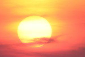 heat related illness awareness - sun
