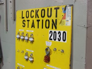 lockout tagout - lockout station