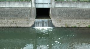 storm water pollution - water drainage