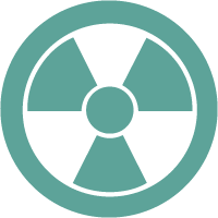 Radiation safety training logo