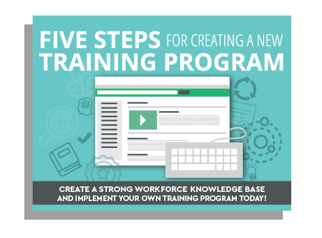 5 steps creating new training program