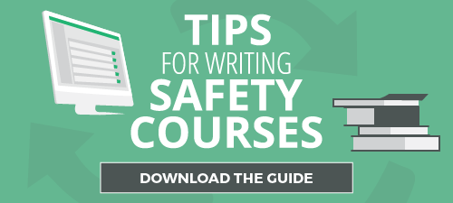 tips for writing safety courses