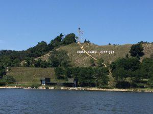 Coast Guard Festival Sign Dewy Hill