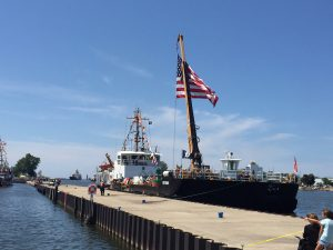 Coast Guard Ship at the Coast Guard Festival