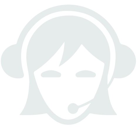 person wearing headset icon