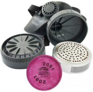 COMBO-air-purifying_Black-NIOSH-Respirator_Pink-filter_10_V02_R001_110520_CMB-1